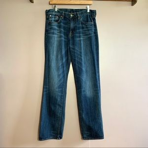 LUCKY BRAND MENS VINTAGE STRAIGHT DENIM JEANS 31
